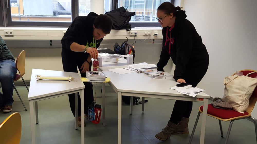 Architekturstudium an der Universität von Hafenstadt Hamburg